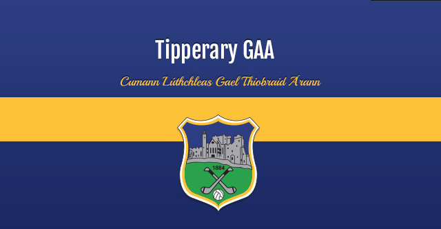 Tipperary Under 21 Hurling management team 2014   29th October