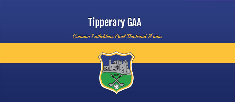Tipperary SH SF and MH panels for respective Munster Championships this weekend
