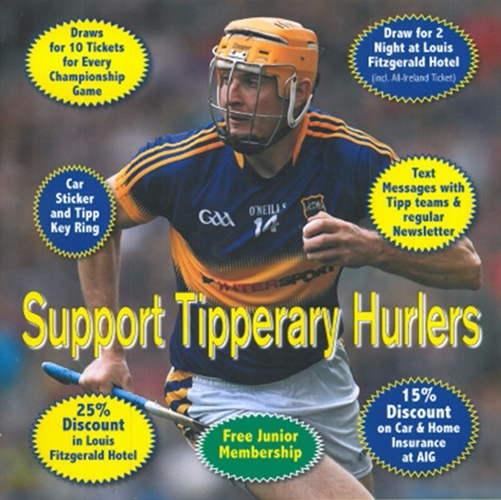 Tipperary Supporters Club 2016 Membership