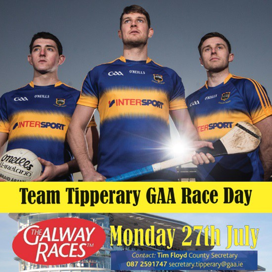Team Tipperary GAA Race Day @ Galway Races | Galway Technology Park | Galway | Ireland
