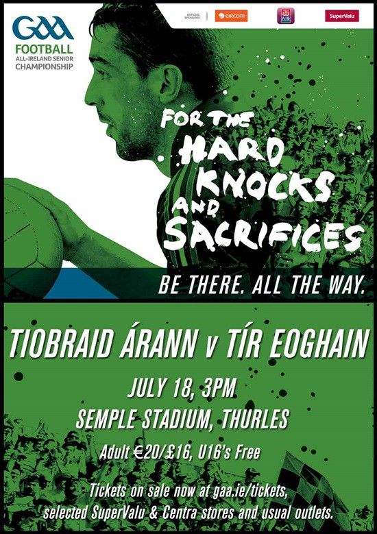 All-Ireland Senior Football Championship Qualifiers – Tipperary v Tyrone @ Semple Stadium Thurles | Thurles | Tipperary | Ireland