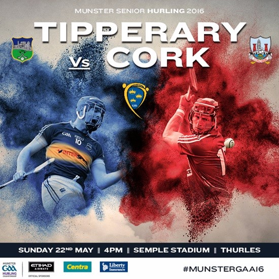 Munster SHC Quarter-Final – Tipperary v Cork – Tickets now on Sale