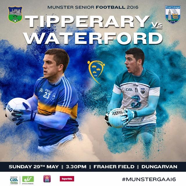 Munster Senior Football Championship Quarter-Final – Tipperary v Waterford