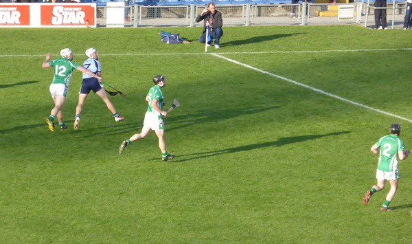 Daire Quinn scores the winning point for Nenagh