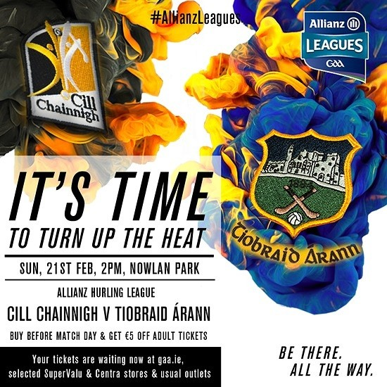 Allianz Hurling League Division 1A – Kilkenny 2-17 Tipperary 0-18