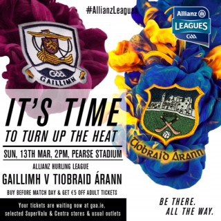Allianz Hurling League Division 1A – Galway 2-19 Tipperary 1-22