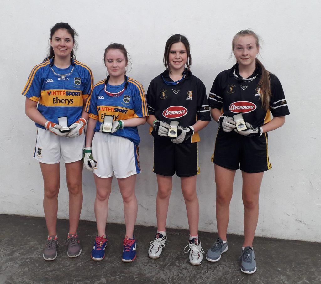 de7f085def2 Isobel Farnan Siobhán Prentice GU16D Winners with Kilkenny Players ...