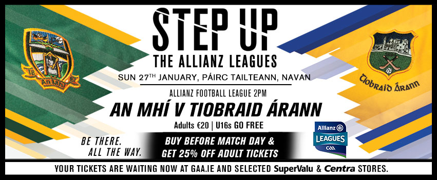 Allianz Football League Tipperary v Meath