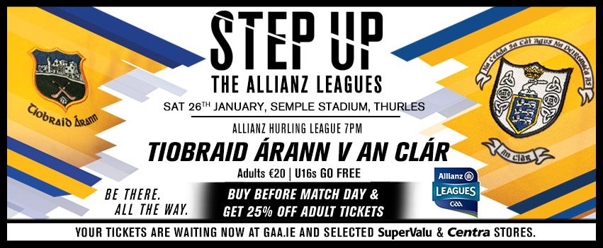 Allianz Hurling League Tipperary v Clare