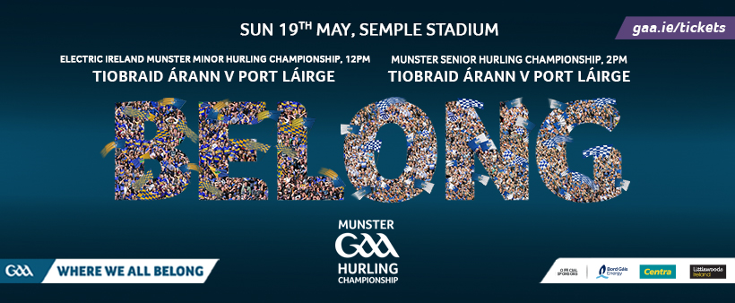 2019 Munster Senior Hurling Championship – Tipperary v Waterford