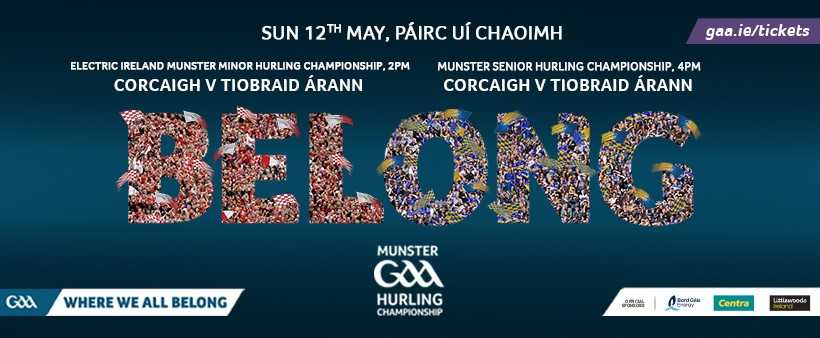 2019 Munster Senior Hurling Championship – Tipperary v Cork