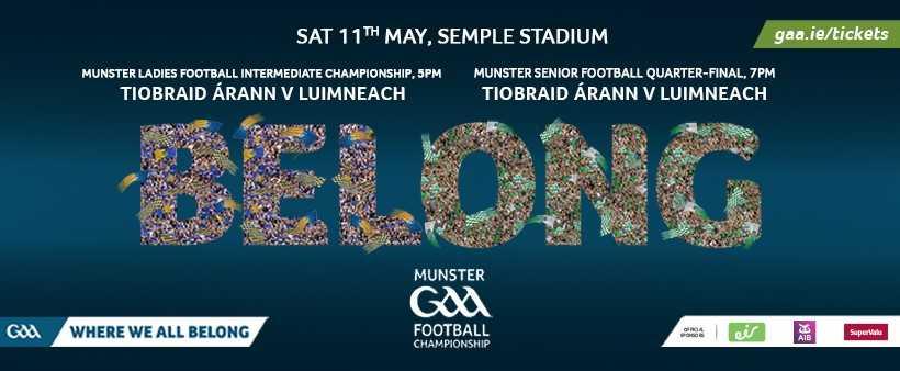 2019 Munster Senior Football Championship Quarter-Final – Tipperary V Limerick