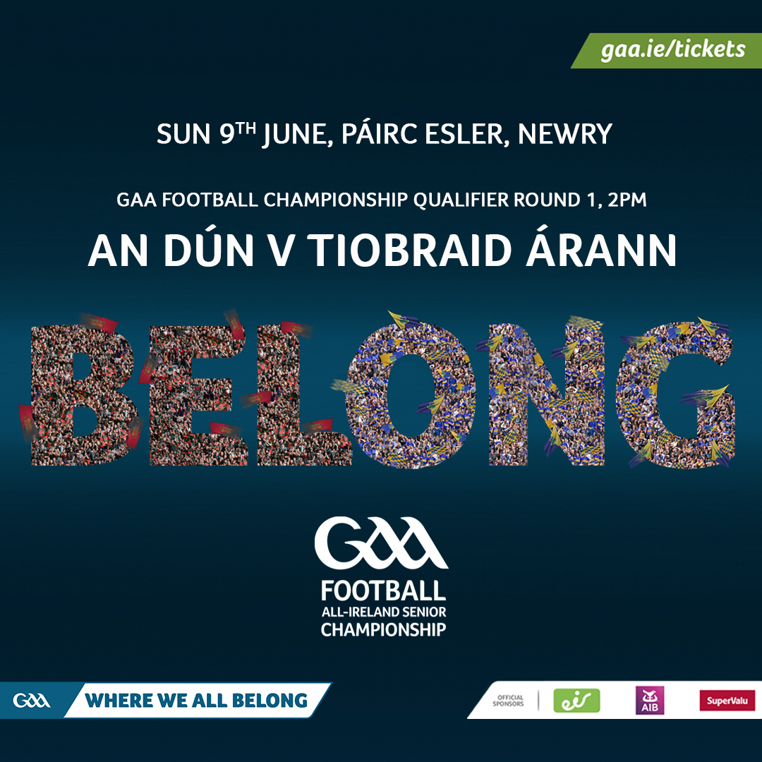 Tipperary v Down – Football Qualifier Round 1