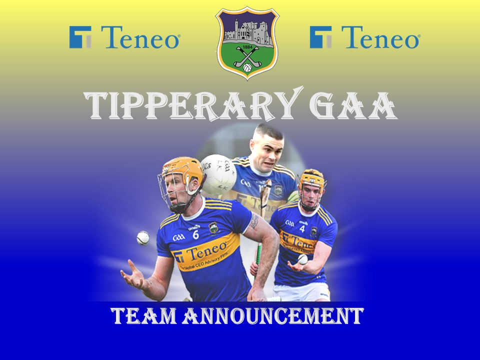 Tipperary Senior Hurling and Football Team Announcement